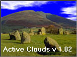 Active Clouds Screensaver v1.02