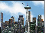 Seattle Skyline Screen Saver